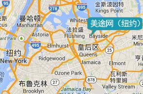 美国总部地图