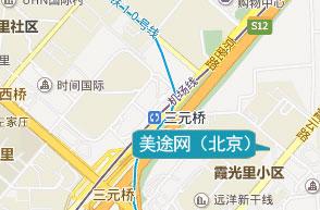 北京公司地图